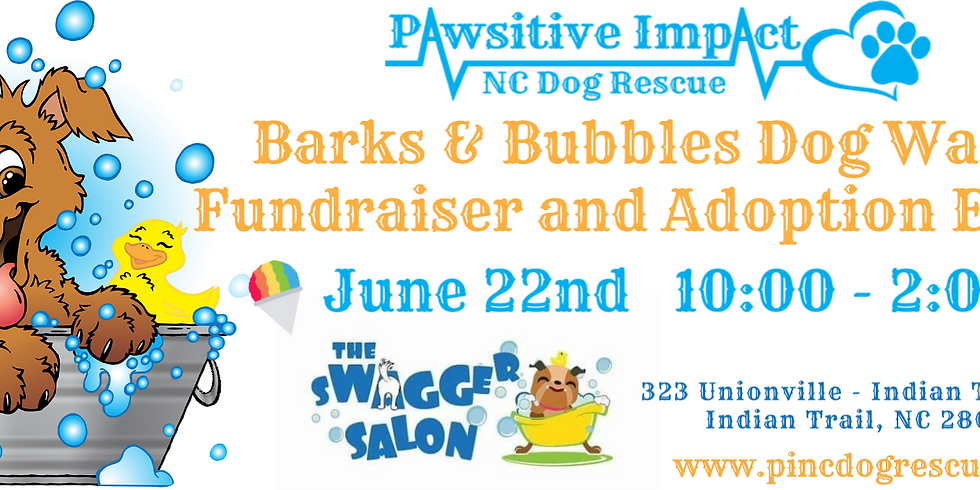 Barks and Bubbles Fundraiser and Adoption Event