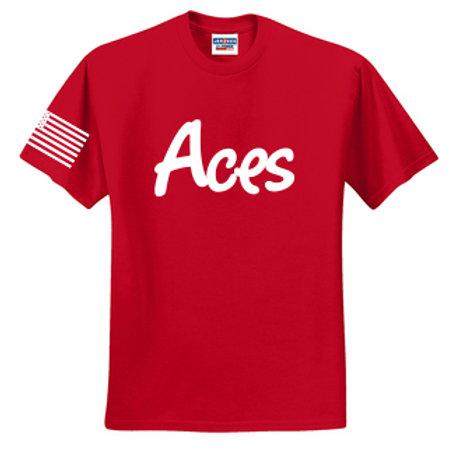 Aces T Shirt Adult