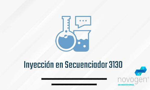 Inyección en Secuenciador 3130