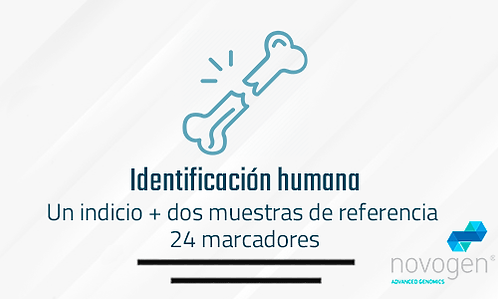 Identificación humana: Una muestra + dos muestras de referencia