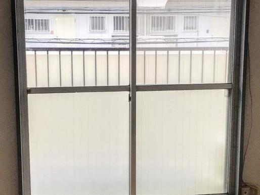 1日で新品の窓に!