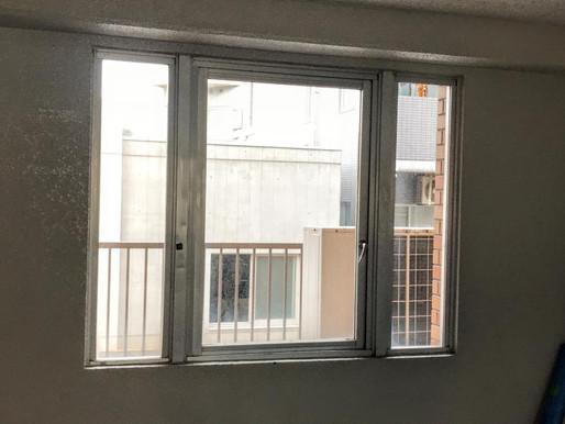 開き窓の交換工事