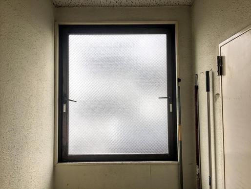 ビルの窓交換