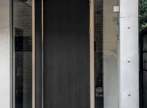アルミドアから鉄扉へリフォーム