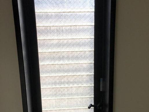 マンションのお風呂の窓が寒い!