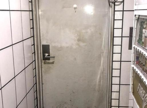 オートロック式の鉄のドアが閉まらない!
