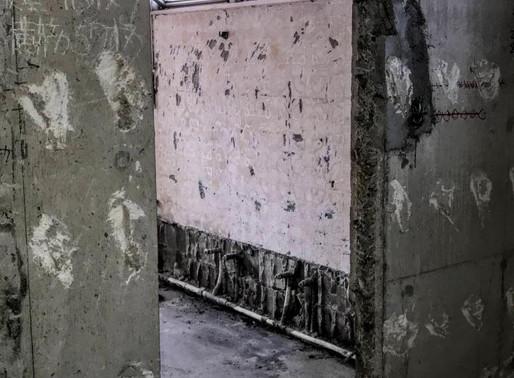 店舗の鉄扉取付工事