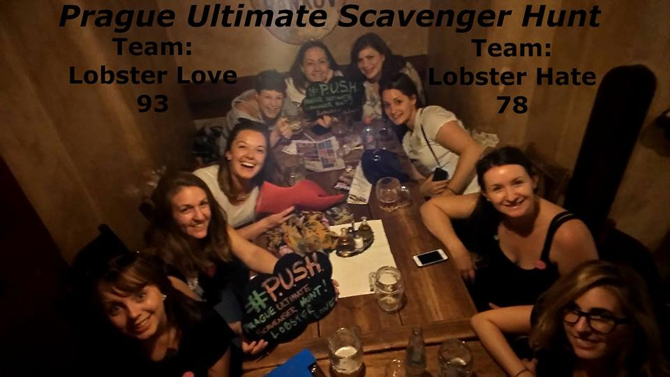 Prague ultimate scavenger hunt