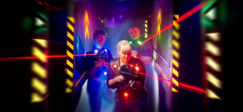 Laser games