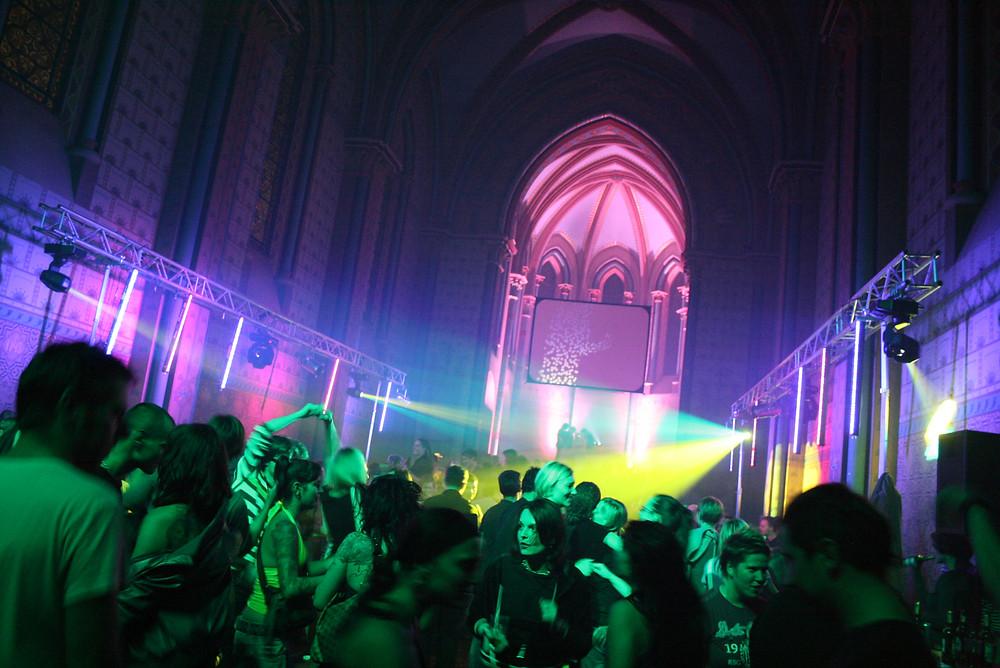 Summer party Prague, Sacre Coeur