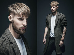 Lookbook Tomasz Marut - hairstyle