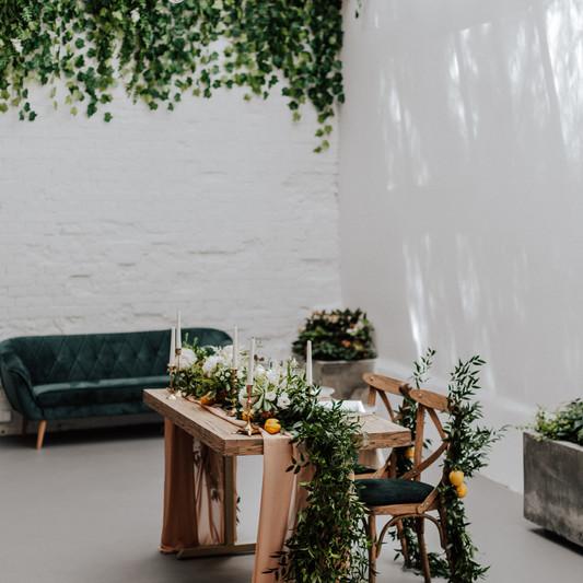 Wedding Table Orangerie