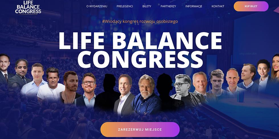 """Żywa na """"Life Balance Congress"""""""
