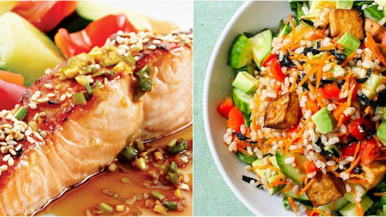 Soya & Honey Asian Grilled Salmon