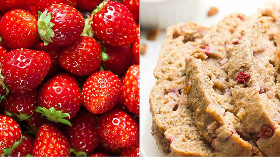 Unmissable Strawberry Pecan Loaf