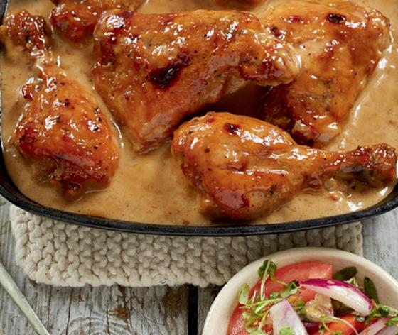 4-Ingredient Chutney Chicken