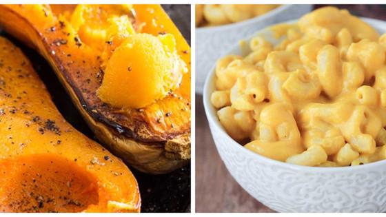 Roast Butternut Mac 'n Cheese