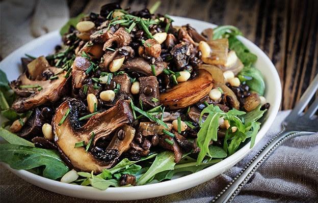 Brown Mushroom Rice
