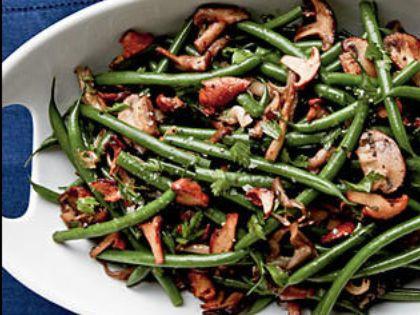 Green Beans & Mushroom Medley