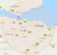 MSMT Lothians radius
