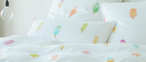 Elegante Bettwäsche Summertime - Popsicle