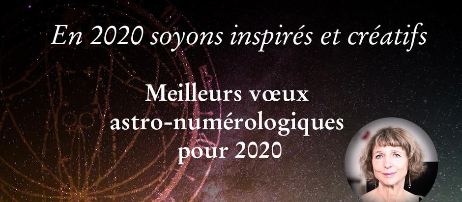 ARTS ET ASTRES – En 2020 soyons inspirés et créatifs