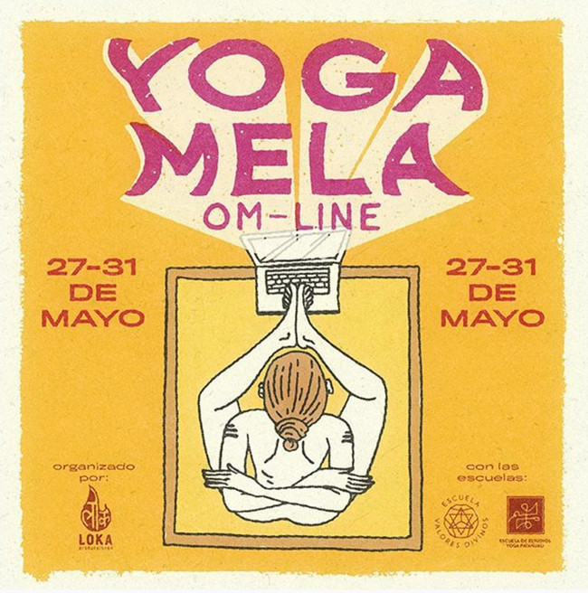 yoga mela omline