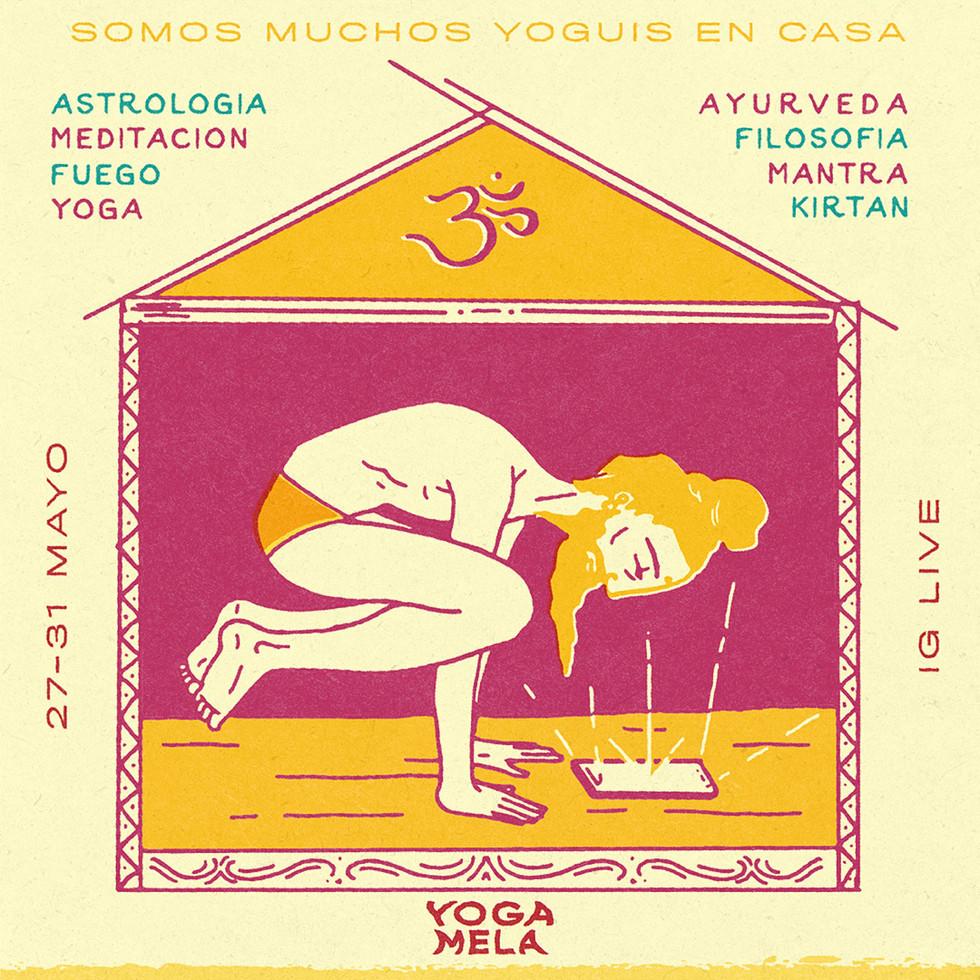 Festival Yoga Mela Omline