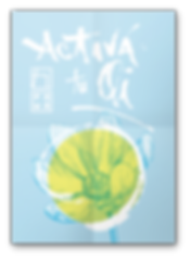 Poster, bebida energetica