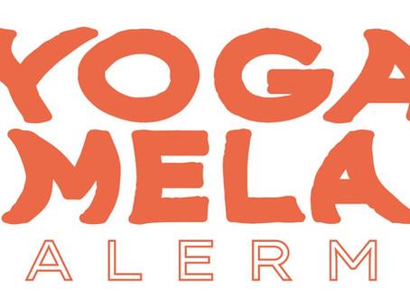 Proceso de diseño para el festival Yoga Mela en Buenos Aires.
