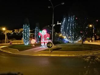 Le circuit du Père Noël ...13 12 2020