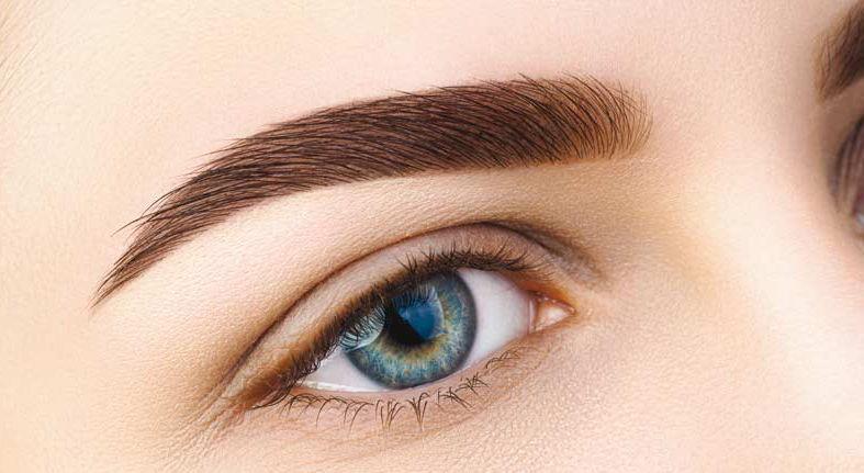 Teinture des sourcils