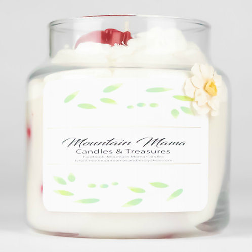 Strawberry Cobbler Candle