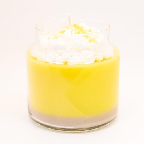 Lemon Meringue Pie Candle