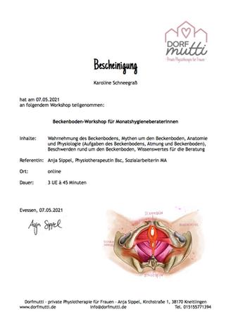 Beckenboden-Workshop