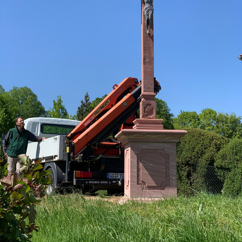 Wegkreuz Bad Homburg - Ober Erlenbach