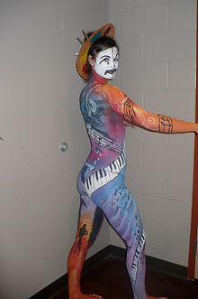 Body Art, Theater Makeup