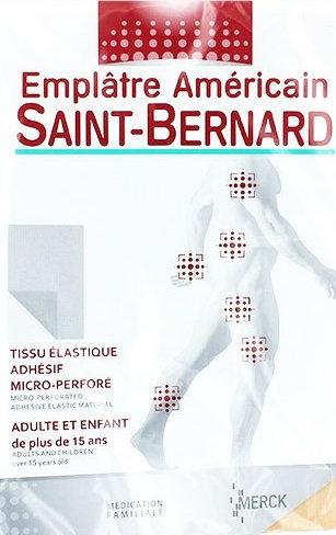 Emplâtre Américain Saint-Bernard
