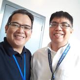 Elmer Cruz and Mike Panlaqui
