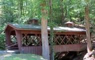 Covered bridge at Henderson Falls park