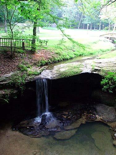 Waterfall at Henderson Falls Park
