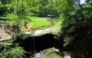 Creek at Henderson Falls park