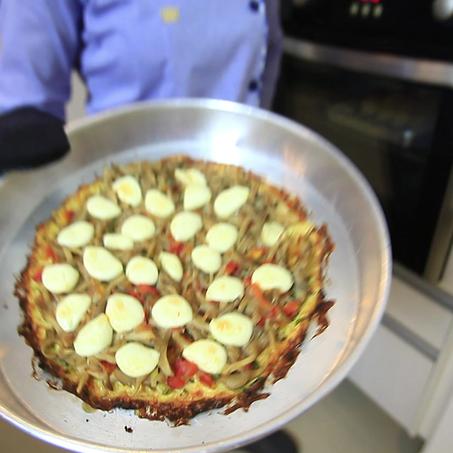 Pizza de Shimeji
