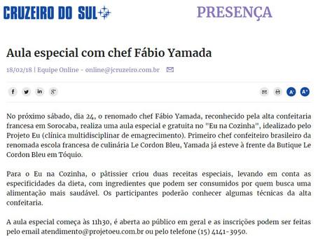 Matéria Jornal Cruzeiro do Sul