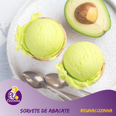 Sorvete de Abacate