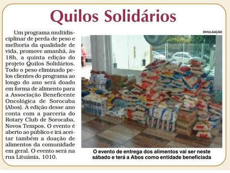 Coluna Presença do Jornal Cruzeiro do Sul de Sorocaba