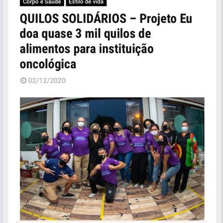 Portal On-line - Quilos Solidários 2020