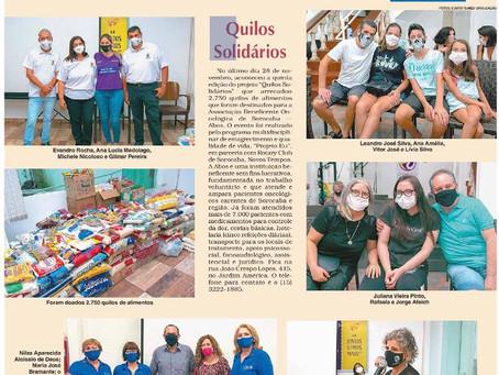 Quilos Solidários - Jornal Cruzeiro do Sul