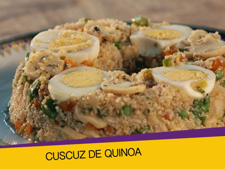 Vídeo Cuscuz de Quinoa