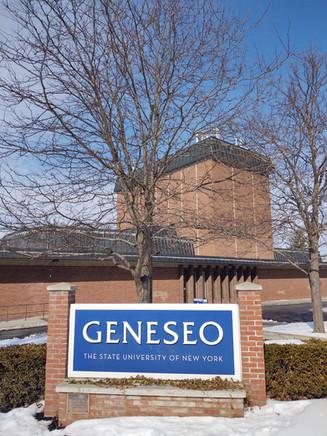 SUNY GENESEO Signs